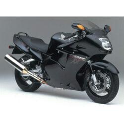 Honda CBR 1100 XX Super Blackbird 2000 JMP Pro Bolt Black Alu Fairing Bolt Kit