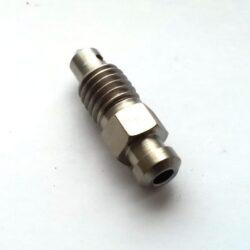 Honda titanium bleed screw