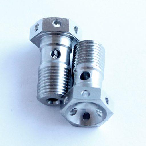 Brembo titanium for banjo bolt cross perforated ducati 0795-54-116 ktm 50213025000