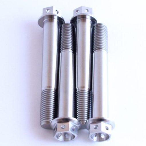 TITANIUM caliper racetrack bolts  M10 x 70mm