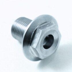 TITANIUM M6 x 15mm pan head bolt